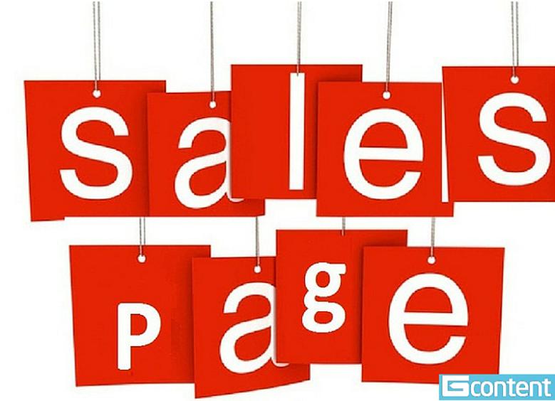 Viết bài bán hàng Slae page