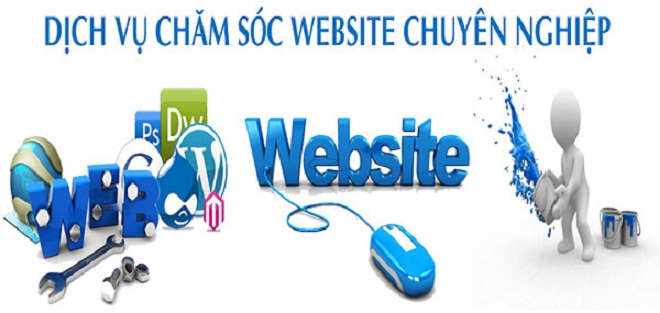 Dịch vụ chăm sóc Fanpage, website chuyên nghiệp