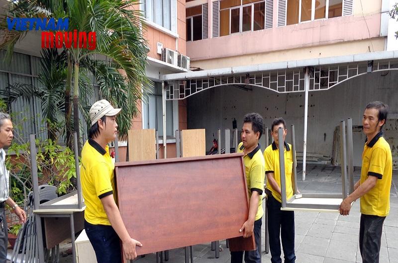 Dịch vụ chuyển nhà, văn phòng Vietnam Moving