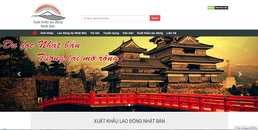 Dự án viết bài chuẩn seo cho Xuất Khẩu Lao Động Nhật Bản