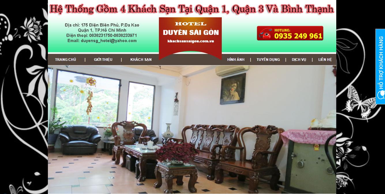 Viết bài chuẩn seo cho dịch vụ khách sạn Duyên Sài Gòn