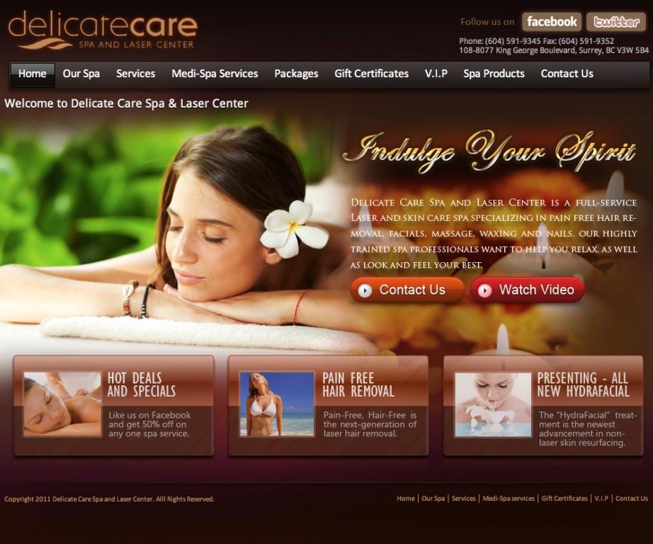 10 mẫu thiết kế website làm đẹp spa, thẩm mỹ viện cực hấp dẫn