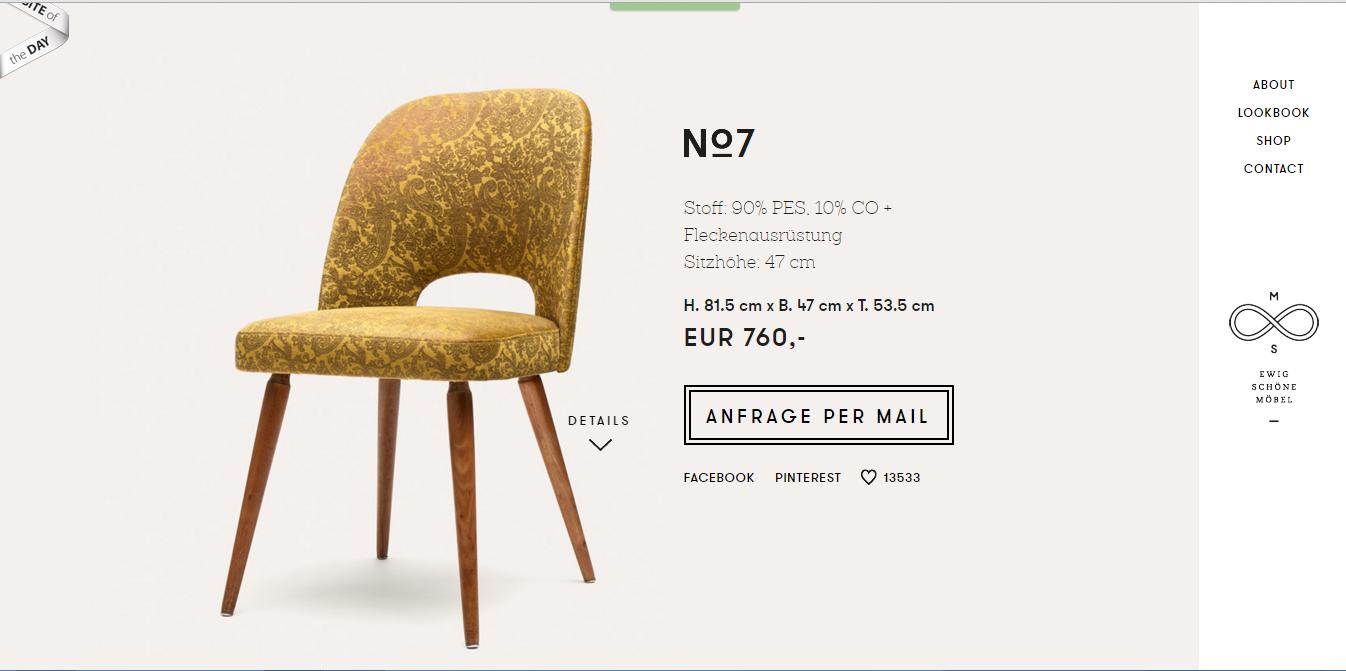 5 Ví dụ thiết kế giao diện trang sản phẩm cho website bán hàng