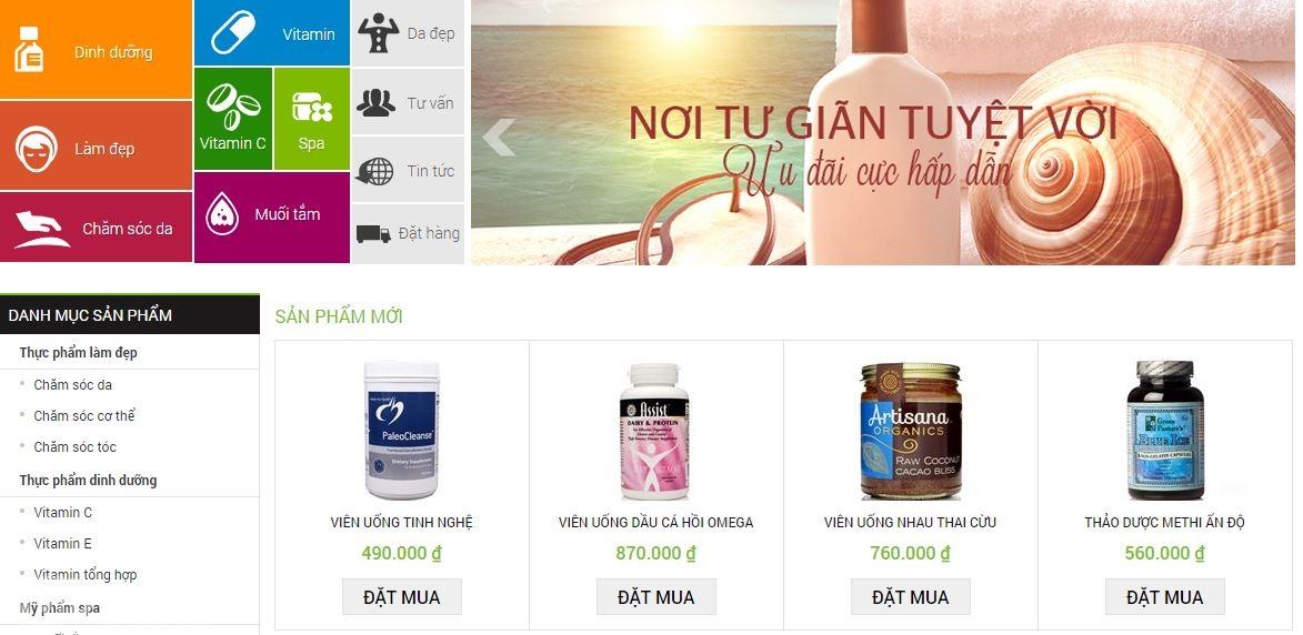 10 mẫu thiết kế website dược phẩm cho doanh nghiệp vừa và nhỏ