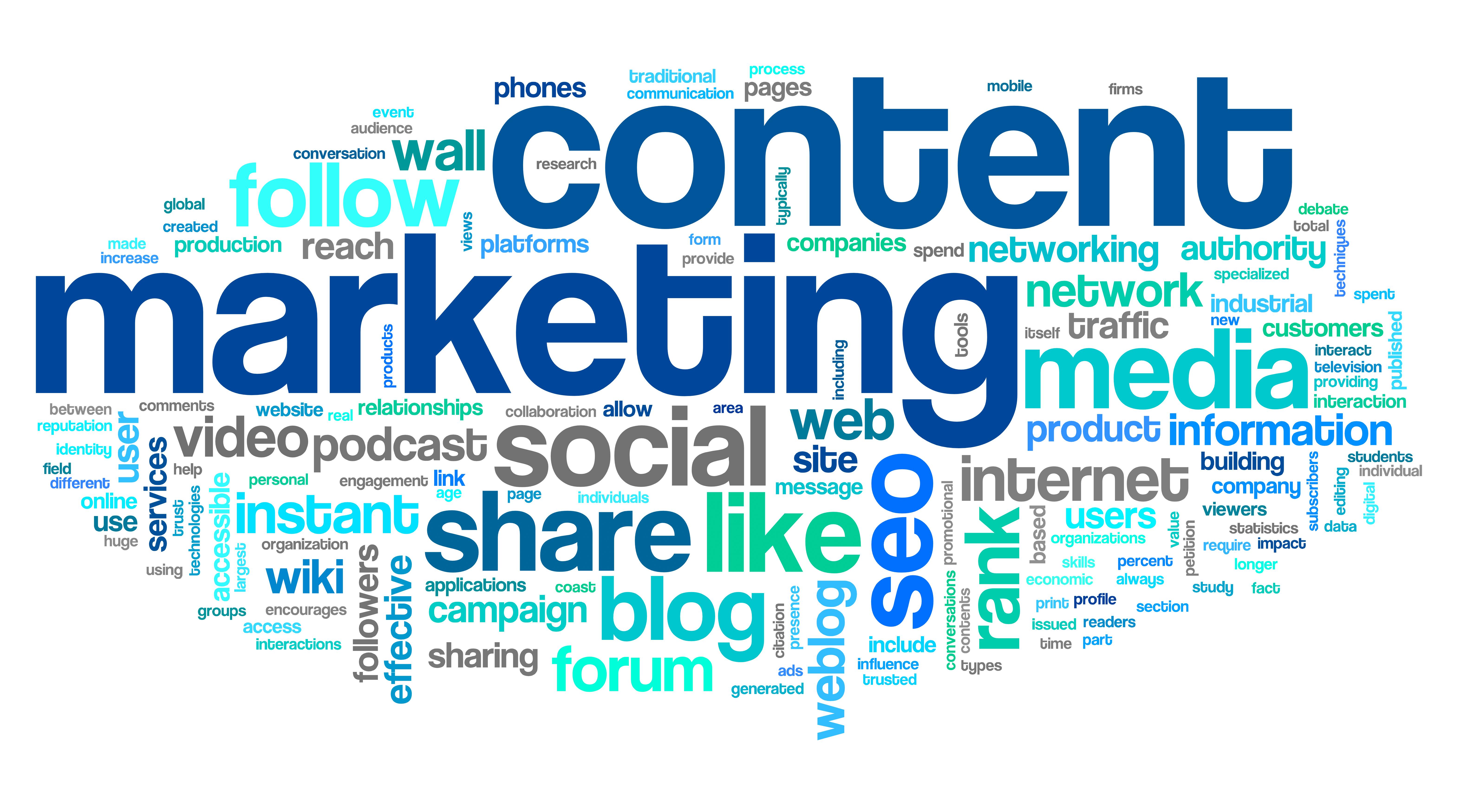 Khác nhau giữa content marketing và copywriting
