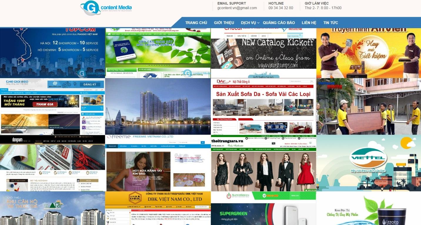 Dịch vụ viết content marketing cho website chuyên nghiệp